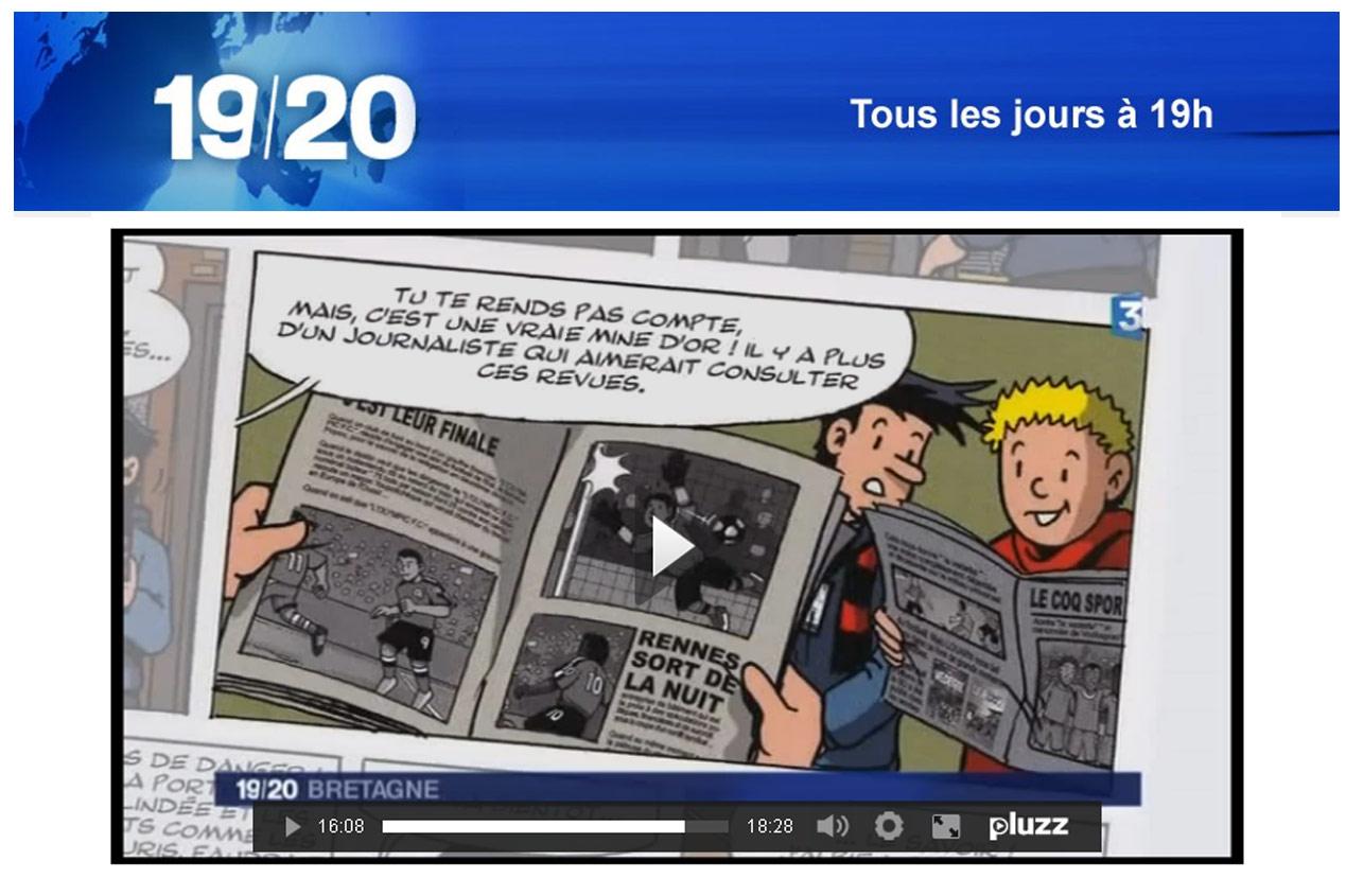Le journal du 19 20 de france 3 bretagne vick et vicky - Le journal de bretagne ...