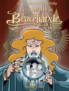 Brocéliande en BD