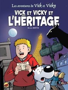 Paris en BD avec Vick et Vicky