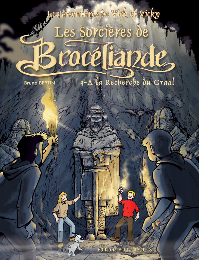 Bande dessinée Brocéliande