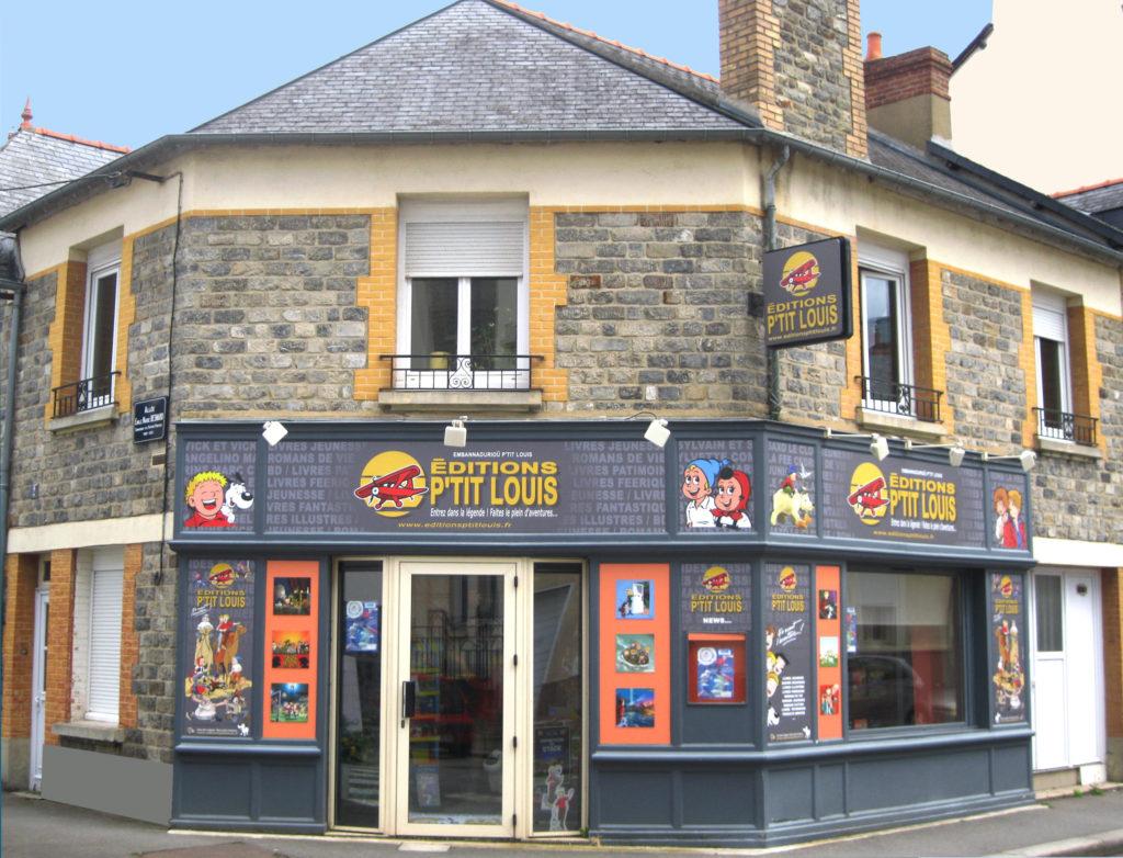 editeur BD breton, Editeur en Bretagne